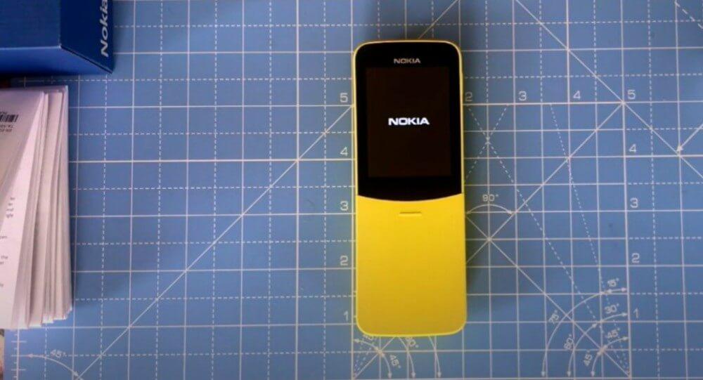 Nokia 8110 4G Smart Arena 3
